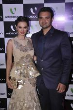 Evelyn Sharma, Mahaakshay Chakraborty snapped at Videocon Event inTote, Mumbai on 21st April 2015 (76)_5537ace5de24f.JPG