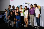 Shraddha Kapoor, Varun Dhawan, remo D Souza, Prabhu Deva at ABCD 2 3D trailor launch today afternoon at pvr juhu on 21st April 2015 (203)_5537bb81e3aa2.JPG