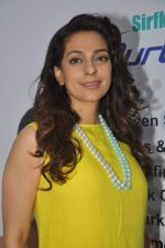 Juhi Chawla launch skin clinic in Parle, Mumbai on 28th April 2015 (48)_554080a9090d0.JPG