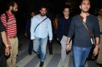 Aamir Khan, Ritesh Sidhwani, Rajkumar Hirani snapped at airport  on 30th April 2015