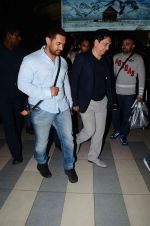 Aamir Khan, Sajid Nadiadwala snapped at airport  on 30th April 2015