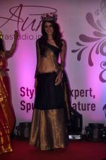 Aditya Arya at Aura Studio Saree fashion show in F Bar on 30th April 2015