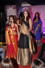 Aditya Arya, Shibani Kashyap at Aura Studio Saree fashion show in F Bar on 30th April 2015