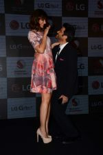 Anil Kapoor and Nargis Fakhri at LG phone launch in J W Marriott on 30th April 2015