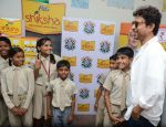 Irrfan Khan snapped at Delhi school on 30th April 2015