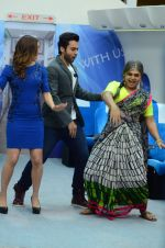Jackky Bhagnani, Lauren gottlieb promote Welcome to Karachi at Life Ok comedy class on 30th April 2015