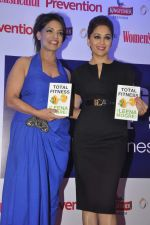 Madhuri Dixit at the launch of Leena Mogre fitness book in Bandra, Mumbai on 30th April 2015 (68)_55437958be716.JPG