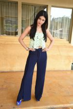 Shruti Hassan snapped to promote Gabbar Carzonrent on 1st May 2015