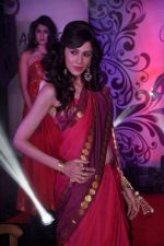 at Aura Studio Saree fashion show in F Bar on 30th April 2015