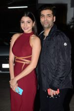 Anushka Sharma, Karan Johar at Bombay Velvet_s first screening in Sunny Super Sound on 1st May 2015 (96)_5544d1d1a5306.JPG