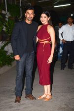 Anushka Sharma, Ranbir Kapoor at Bombay Velvet_s first screening in Sunny Super Sound on 1st May 2015 (79)_5544d1d5842d8.JPG