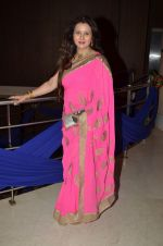Poonam Dhillon at Karan Patel and Ankita Engagement and Sangeet Celebration in Novotel Hotel, Juhu on 1st May 2015