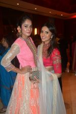 at Karan Patel and Ankita Engagement and Sangeet Celebration in Novotel Hotel, Juhu on 1st May 2015