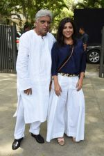 javed Akhtar, Zoya Akhtar at Dil Dhadakne Do music launch in Mumbai on 3rd May 2015 (79)_5546181cf2b2a.JPG