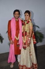 Karan Patel and Ankita Bhargava wedding on 3rd May 2015 (7)_554864b43ab40.JPG