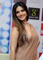 Sunny Leone in Delhi for film promotions of Kuch Kuch Locha Hai on 4th May 2015
