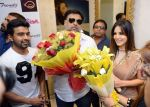 Sunny Leone, Ram Kapoor in Delhi for film promotions of Kuch Kuch Locha Hai on 4th May 2015 (85)_55488c99de768.JPG