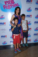 Aditi Gowitrikar at Max kids fashion show in Mumbai on 5th May 2015