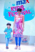 Mandira Bedi at Max kids fashion show in Mumbai on 5th May 2015