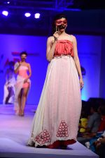 Model walk the ramp for Modart fashion show and Lingerie show on 5th may 2015