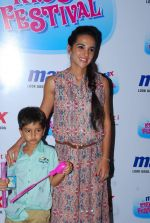 Tara Sharma at Max kids fashion show in Mumbai on 5th May 2015