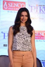 Deepika Padukone promotes Piku at Senco Gold and Diamonds on 6th May 2015