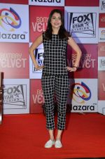 Anushka Sharma at Bombay Velvet game launch in Mumbai on 7th May 2015