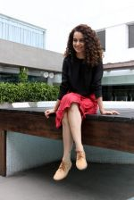 Kangana Ranaut promotes Tanu Weds Manu 2 in Kolkata on 7th May 2015