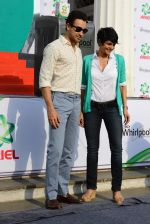 Imran Khan and Mandira Bedi snapped at a product promotion event on 9th May 2015