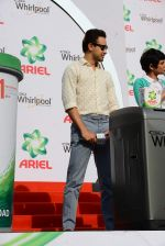Imran Khan snapped at a product promotion event on 9th May 2015