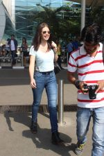 Kalki Koechlin snapped at the airport on 8th May 2015