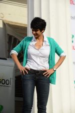 Mandira Bedi snapped at a product promotion event on 9th May 2015