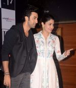 Ranbir Kapoor, Anushka Sharma in Kolkata on 8th May 2015