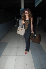 Urvashi Rautela snapped as they return from Kolkata on 8th May 2015