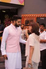 Abhishek Bachchan, neetu Singh at Shashi Kapoor felicitation at Prithvi theatre in Mumbai on 10th May 2015