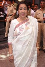 Asha Bhosle at Shashi Kapoor felicitation at Prithvi theatre in Mumbai on 10th May 2015
