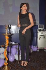 Gauhar Khan snapped at a Laser skin clinic launch in Mumbai on 9th May 2015