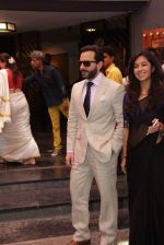 Saif Ali Khan at Shashi Kapoor felicitation at Prithvi theatre in Mumbai on 10th May 2015