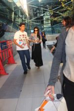 Asin Thottumkal snapped at airport on 10th May 2015