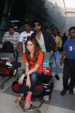 Lauren Gottlieb, Jackky Bhagnani snapped at airport on 10th May 2015