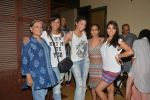 Manasi Scott, Diandra Soares, Suchitra Pillai, Narayani Shastri at Narayani Shastri_s Rann film screening in Star House, Andheri on 10th May 2015 (45)_5550421bc9e61.JPG