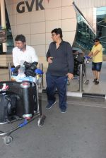 Vashu Bhagnani snapped at airport on 10th May 2015