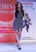 Gail Nicole Da Silva walking the Ramp at _Femina Festive Showcase May 2015_.11