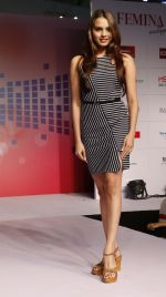 Gail Nicole Da Silva walking the Ramp at _Femina Festive Showcase May 2015_.2_55518e6a939da.JPG