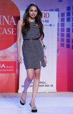 Gail Nicole Da Silva walking the Ramp at _Femina Festive Showcase May 2015_