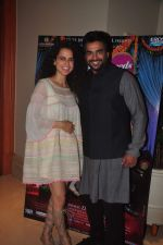 Kangana Ranaut and Madhavan promote Tanu Weds Manu 2 on 11th May 2015
