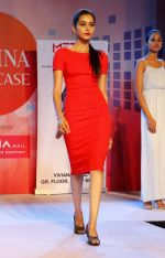 Model walking the Ramp at _Femina Festive Showcase May 2015_.10