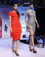 Model walking the Ramp at _Femina Festive Showcase May 2015_.12
