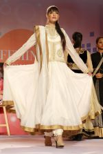 Model walking the Ramp at _Femina Festive Showcase May 2015_.2