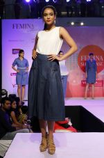 Model walking the Ramp at _Femina Festive Showcase May 2015_.6